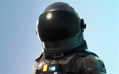 Dark Voyager, close-up, Fortnite, 2019 games, cyber warriors, Fortnite Battle Royale, Dark Voyager Fortnite