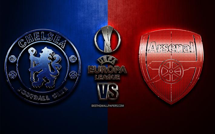 Download Wallpapers Chelsea Vs Arsenal, Fan Art, 2019 UEFA