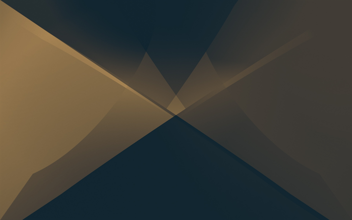gray-brown abstraction, brown abstract background, material design, triangles background