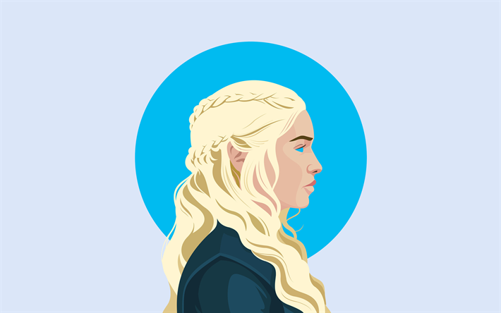Descargar Fondos De Pantalla Daenerys Targaryen 4k Mínima
