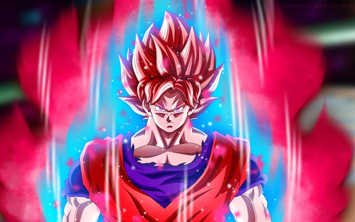 Download Wallpapers 4k Super Saiyan Rose Fire Dragon Ball Super Art Goku Black Dbs Dragon Ball Ssr Black For Desktop Free Pictures For Desktop Free