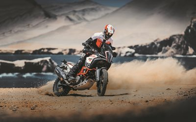 KTM 1290 Super Duke R, drift, 2020 bikes, extreme, superbikes, KTM