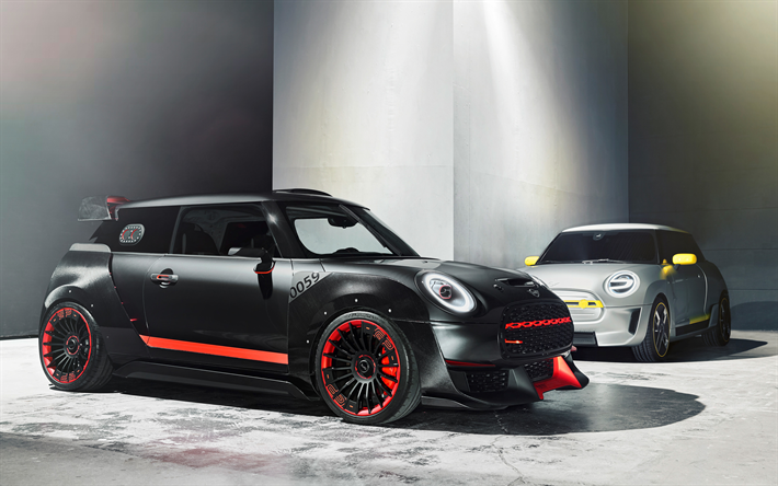 Download Wallpapers 4k Mini Hatch Tuning 2018 Cars Compact Cars