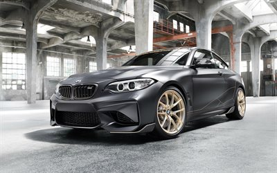 2018, BMW M2, M Performance Parts Concept, sport coupe, tuning M2, German sports cars, BMW