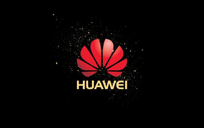 Télécharger Fonds Décran Huawei Fond Noir Logo Pour Le