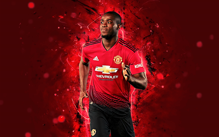 Download Wallpapers Eric Bailly 4k Season 2018 2019