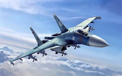 sukhoi su-33, flanker-d, kämpfer, kampfflugzeuge, super flanker, russian air force, su-33