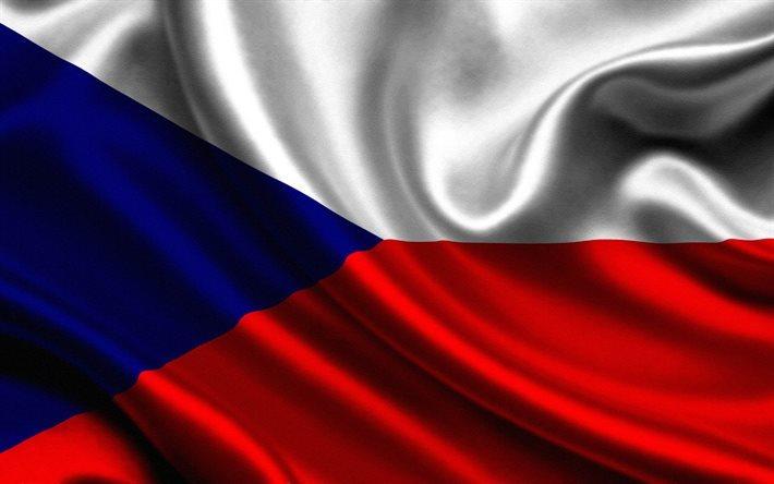 Download wallpapers flag of Czech Republic, Czech flag ...