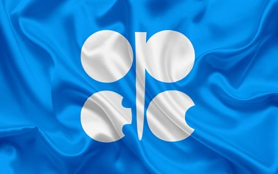 Flag of OPEC, Organization of the Petroleum Exporting Countries, international organization, oil, oil production