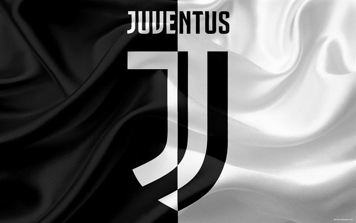 Download wallpapers new juventus logo 4k logo juventus for Logos space torino