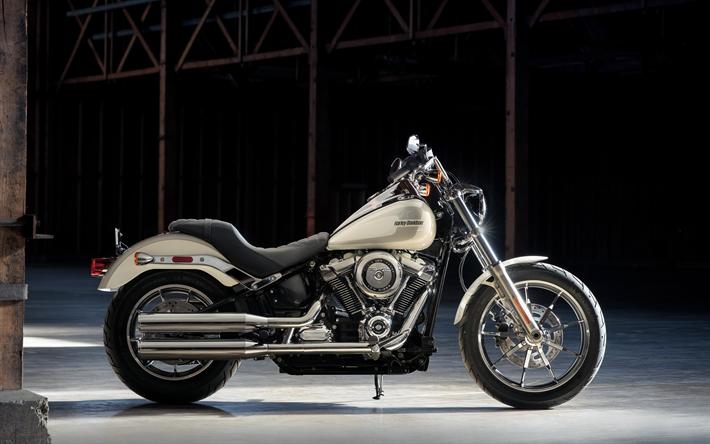 Download Wallpapers Harley-Davidson Dyna Low Rider, 4k