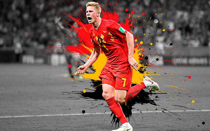 Download Wallpapers Kevin De Bruyne 4k Belgium National