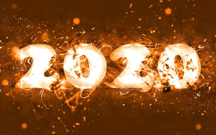 Happy New Year Orange 60