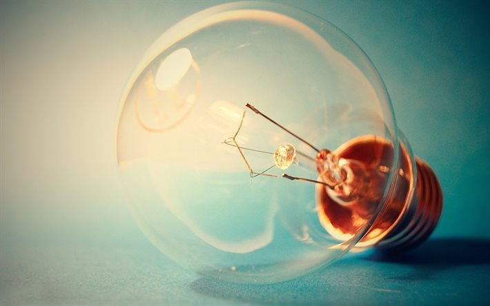 lightbulb, idea concepts, light