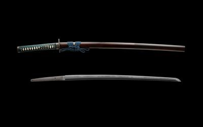 katana, Japanese sword, holsters, sword, edged weapons