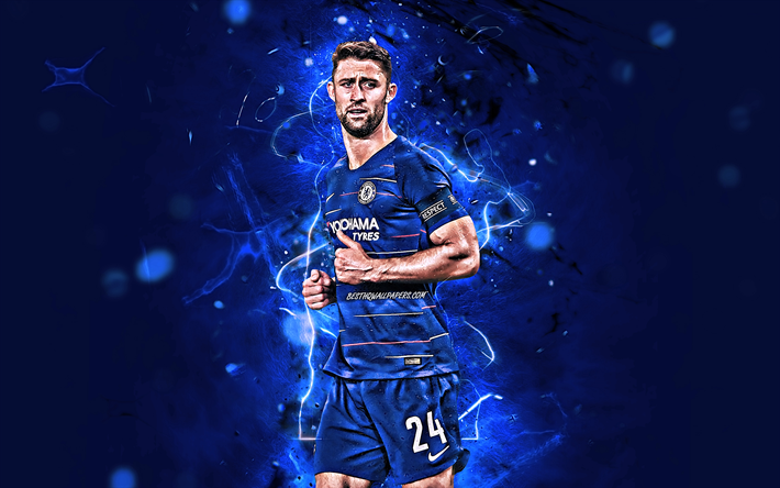 Download Wallpapers Gary Cahill, English Footballers