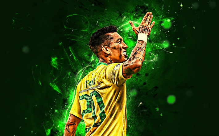 Download Wallpapers Roberto Firmino, Back View, Brazil