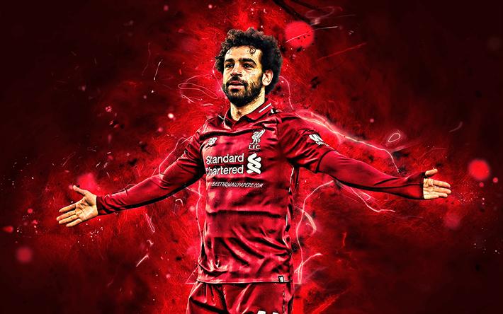 Descargar Fondos De Pantalla Mohamed Salah Lfc Close Up