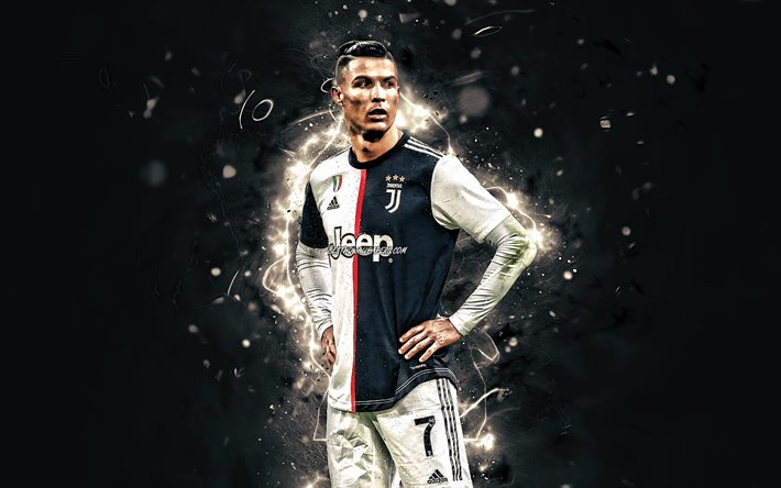 Download Wallpapers Cristiano Ronaldo 2020 Juventus Fc Cr7 New