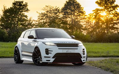 Lumma CLR RE, 4k, optimización de 2019 coches, Lumma Design, L551, crossovers, el Range Rover Evoque CLR RE, Land Rover, 2019 Range Rover Evoque, Range Rover