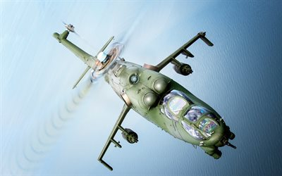 Mi-24, attack helicopter, combat helicopters, military helicopters, Polish Air Force, Poland
