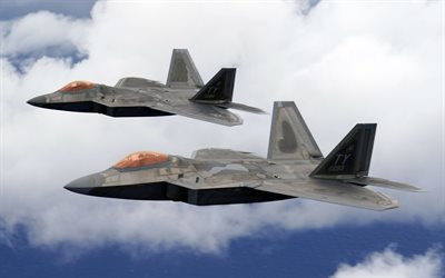 Boeing F-22 Raptor, american fighter, fifth generation fighter, US Air Force, US Army, Lockheed Martin F-22 Raptor