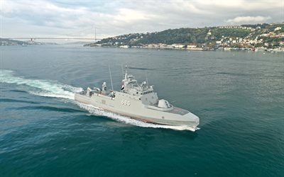 M Fahmy 686, Missile boat, Egyptian Navy, Egyptian Naval Force, Egyptian missile boat, Bosphorus, Egyptian warships
