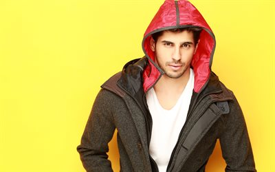 Sidharth Malhotra, 4k, indian actor, guys, Bollywood, celebrity