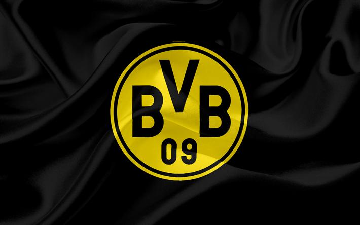 Download Wallpapers Borussia Dortmund 4k Logo Bvb Emblem German Football Club Germany Bundesliga Football For Desktop Free Pictures For Desktop Free