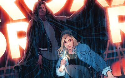 Cloak and Dagger, 2018, Marvel, poster, American television series, superheroes