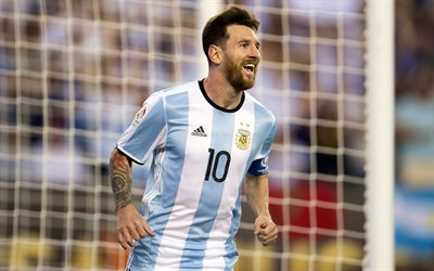 Messi, Argentinean National Team, footballers, Lionel Messi, match, soccer, Leo Messi