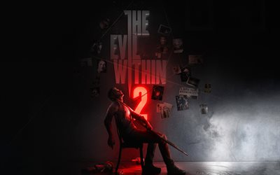 The Evil Within 2, 4k, 2017 games, Survival horror, Id Tech 5
