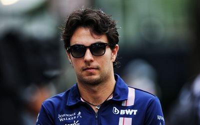 Sergio Perez, Formula 1, Mexican racing driver, portrait, Sahara Force India, F1 Team