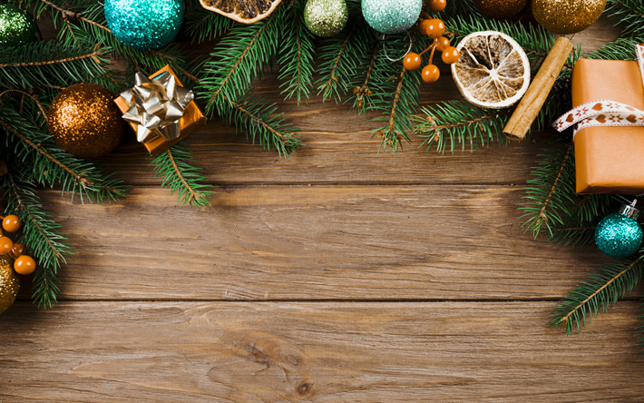 Christmas Wood Background.Download Wallpapers Christmas Wooden Background Tree