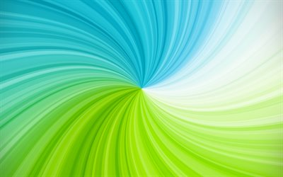 blue green vortex, 4k, creative, spiral, abstract vortex, artwork, vortex, colorful abstract background, spiral backgrounds