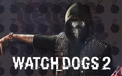 Watch Dogs 2, poster, art, 2017 games, Action-adventure
