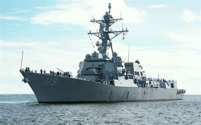 USS Delbert Black, DDG-119, American destroyer, US Navy, warships, Arleigh Burke-class destroyer, United States Navy