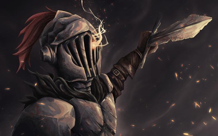 Herunterladen Hintergrundbild Goblin Slayer Nacht