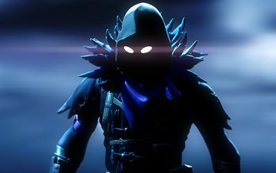 Raven, notte, Fortnite personaggi, 2018 giochi, guerriero, Fortnite Battle Royale, Fortnite