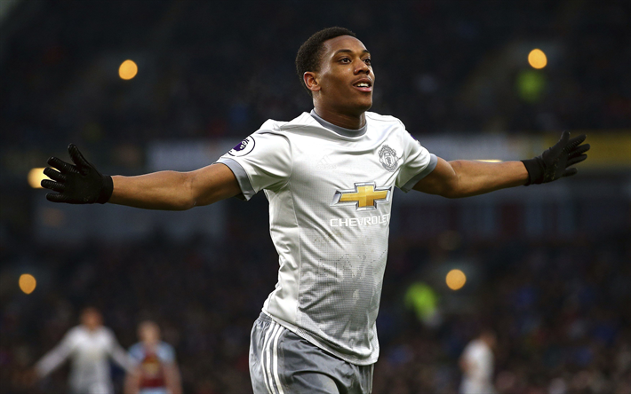 Download Wallpapers Anthony Martial, Manchester United