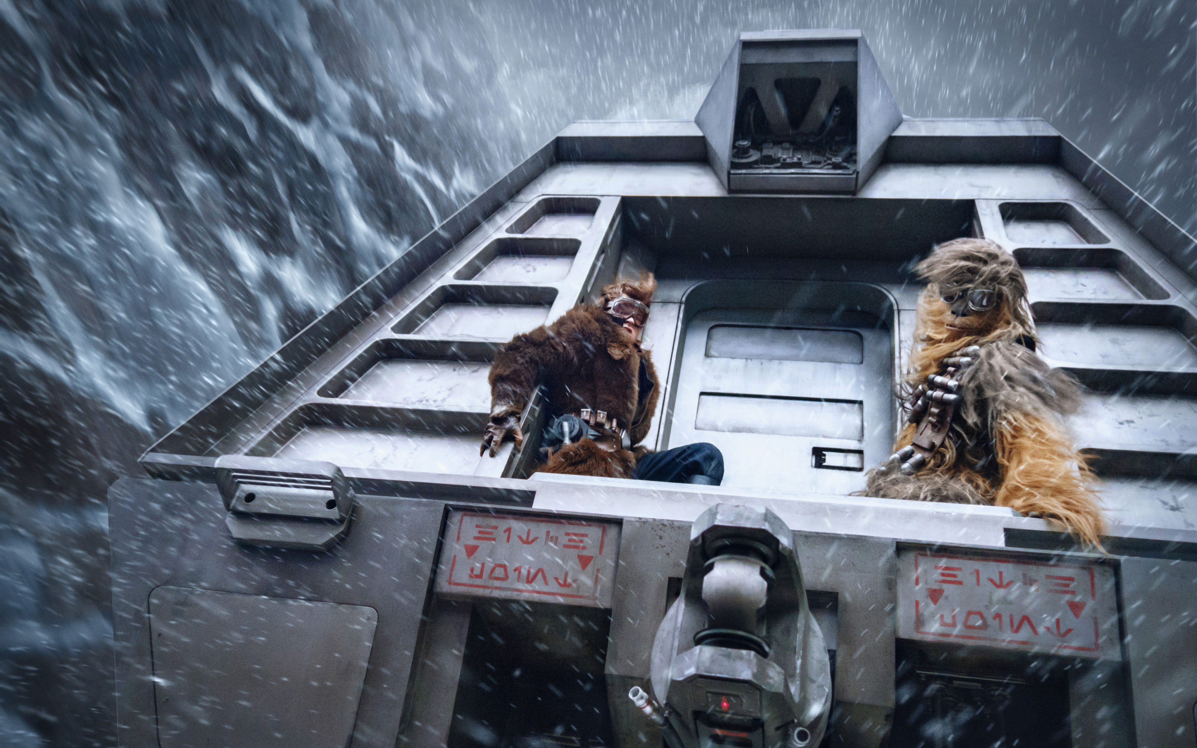 Download Wallpapers Solo A Star Wars Story 4k 2018 Movie Star Wars For Desktop With Resolution 3840x2400 High Quality Hd Pictures Wallpapers