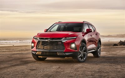 4k, Chevrolet Blazer RS, offroad, 2019 voitures, tuning, de Vus, de nouvelles Blazer, 2019 Chevrolet Blazer RS, des voitures américaines, Chevrolet