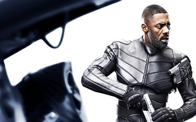 Brixton, Fast and Furious Presents Hobbs and Shaw, 2019 movie, poster, Idris Elba
