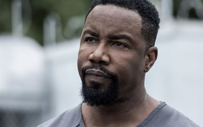Michael Jai White, portrait, american actor, Hollywood, USA, movie stars