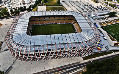 Stadion Miejski, Bialymstoku, Poland, Jagiellonia Stadium, Polish Football Stadium, Sports Arenas, Europe