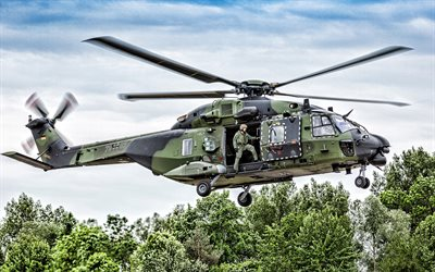 NHI NH90, Luftwaffe, German Air Force, german military helicopter, Bundeswehr, NATO, NH90, combat helicopters