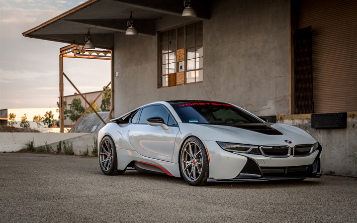 Download Wallpapers Vorsteiner Tuning Bmw I8 Supercars 2018 Cars