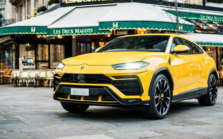 Descargar Fondos De Pantalla Lamborghini Urus 2018 Deportivo De