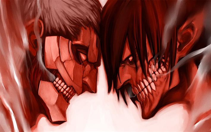 Download Wallpapers Shingeki No Kyojin Attack On Titan