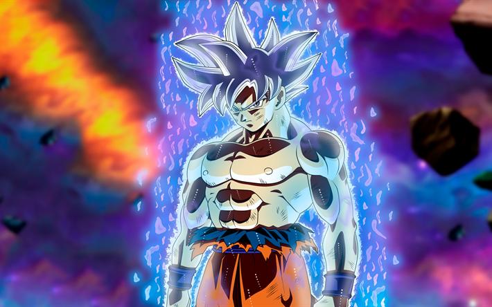 Goku Ultra Instinto Fondos De Pantalla Wallpaper: Descargar Fondos De Pantalla 4k, Ultra Instinto De Goku